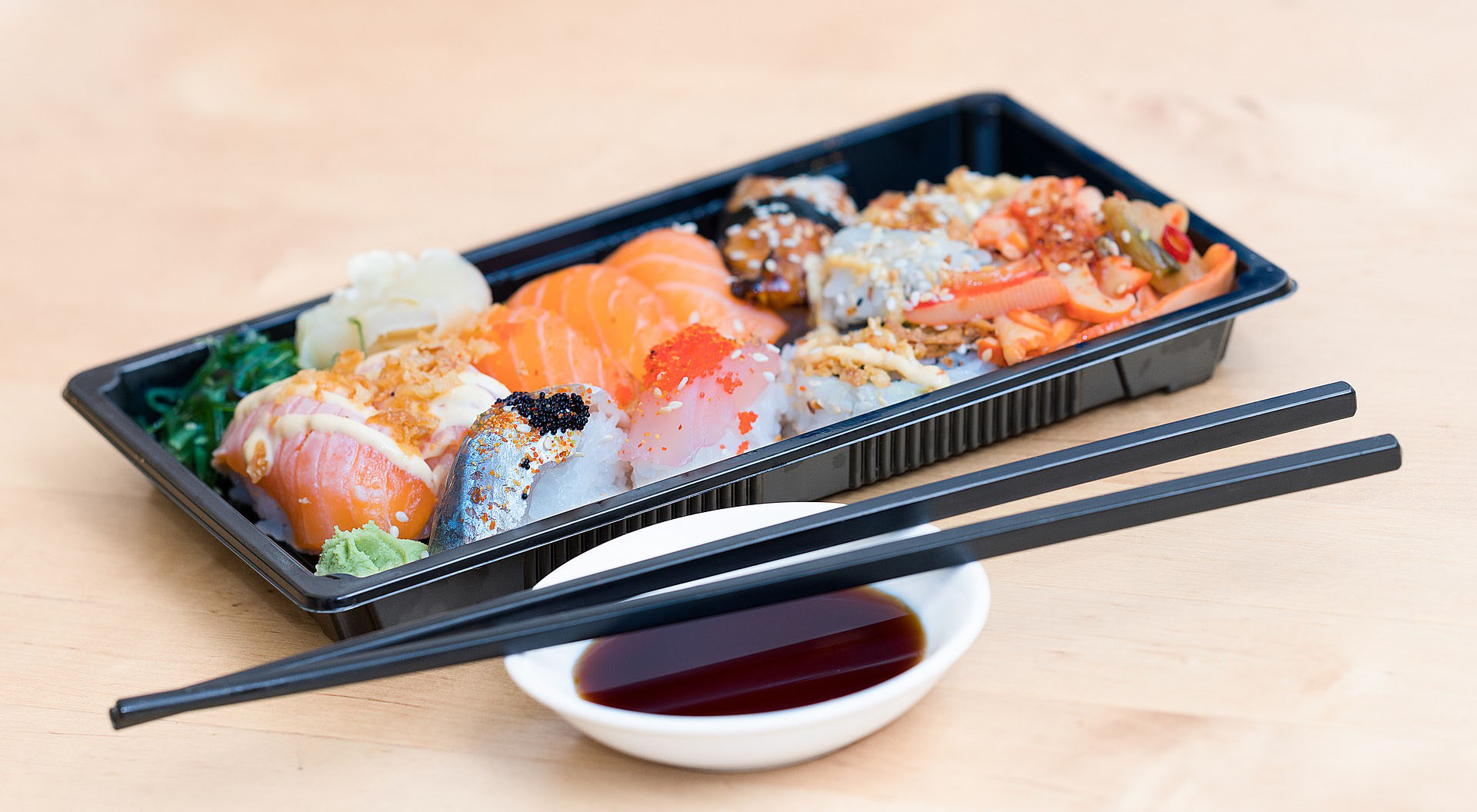 寿司テイクアウト写真